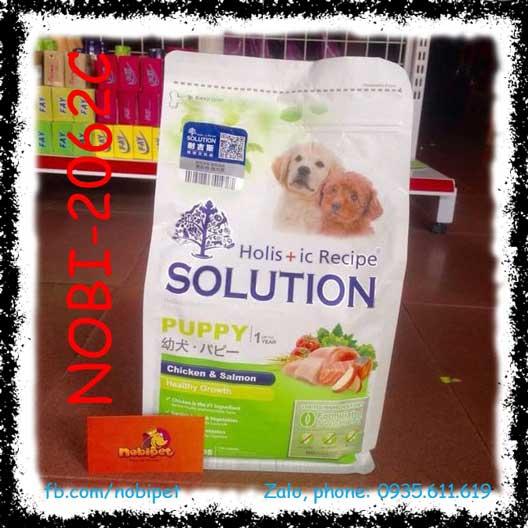 HR Solution Puppy 1.36kg Thức Ăn Hạt Cho Chó Con Dưới 12 Tháng