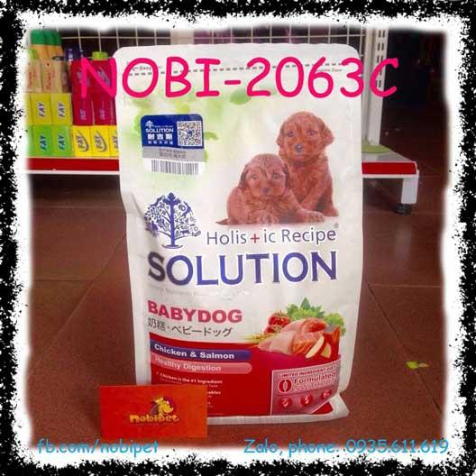 HR Solution Baby Dog 1.36kg Thức Ăn Hạt Cho Chó Con Vị Gà Và Cá Hồi