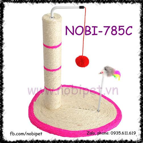 Trụ Cào Móng 3 In 1 Cho Mèo Chơi Thông Minh Nobi-785C