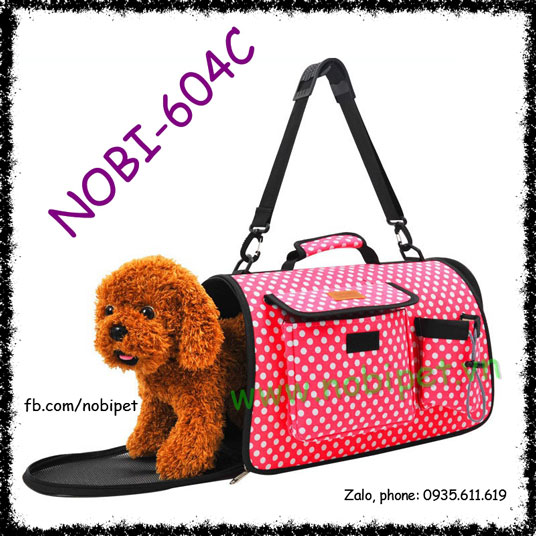 Túi Đựng Vận Chuyển Student Cute Cho Chó Mèo Nobi-604C