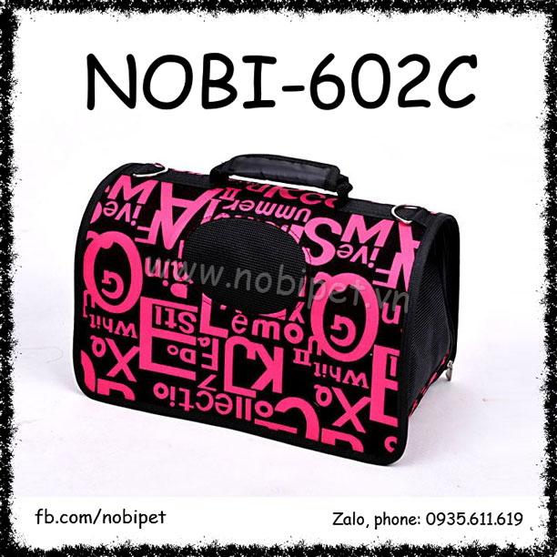Túi Xách Boss Thời Trang Cho Thỏ Kiểng Bọ Ú Đi Chơi Nobi-602C