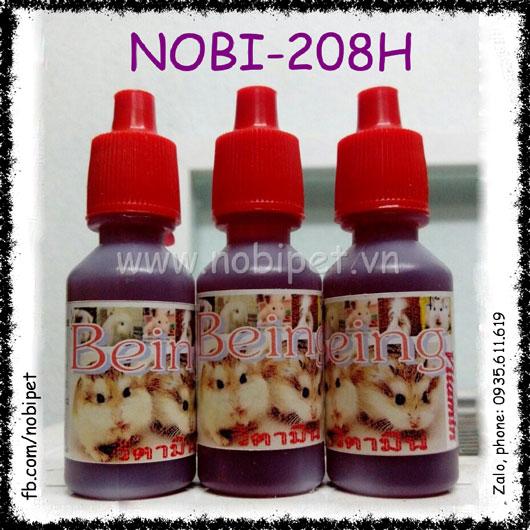 Vitamin Tổng Hợp Cho Hamster, Thỏ Kiểng, Bọ Ú Thú Cưng Nhỏ Nobi-208H