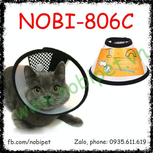 Vòng Bảo Hộ Hospital Chống Cắn, Liếm Cho Chó Mèo Nobi-806C