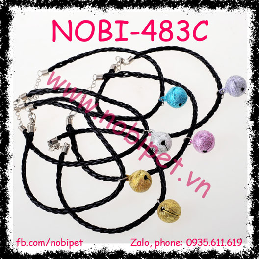 Vòng Chuông Giản Đơn xinh xắn cho Chó Mèo NOBI-483C