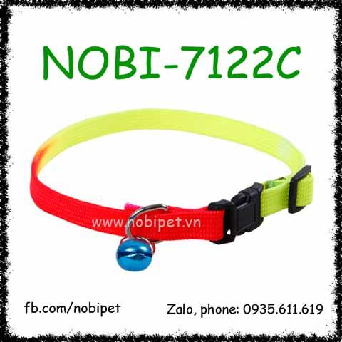 Vòng Cổ Cầu Vồng Sắc Màu Cho Chó Mèo Nobi-7122C