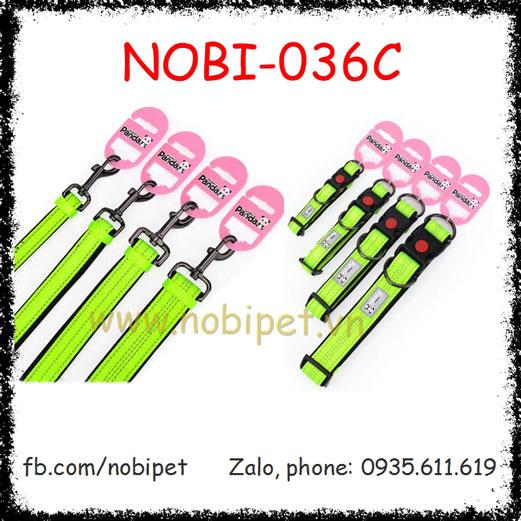 Vòng Cổ Panda Cho Chó Cao Cấp Thời Trang Chịu Lực Tốt Nobi-036C