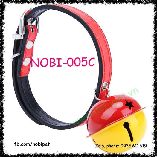 Vòng Đeo Cổ Chuông Quả Sồi Lớn Cho Chó Nobi-005C
