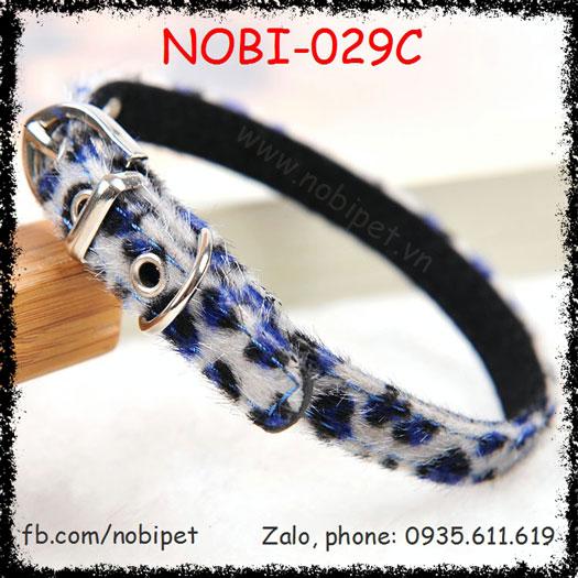 Vòng Đeo Cổ Leopard Thời Trang Cho Chó Nobi-029C