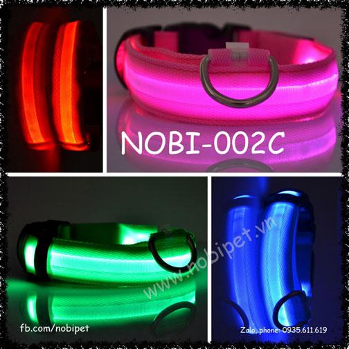 Vòng Đeo Cổ Rainbow Phát Quang Cho Chó Nobi-002C
