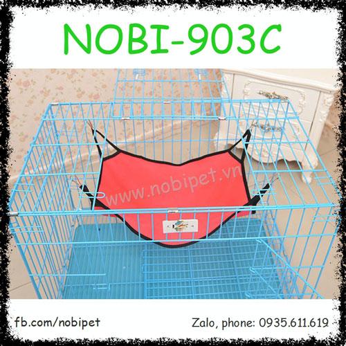 Võng Nằm Vải Treo Lồng Nhiều Màu Cho Sóc Bông Nobi-903C