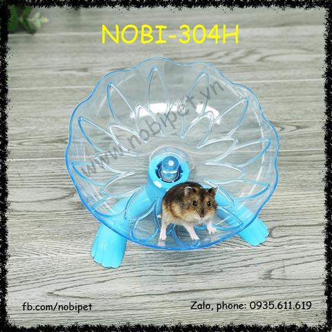Wheel Chạy Elip 45 Độ Cực Êm Cho Chuột Hamster Nobi-304H