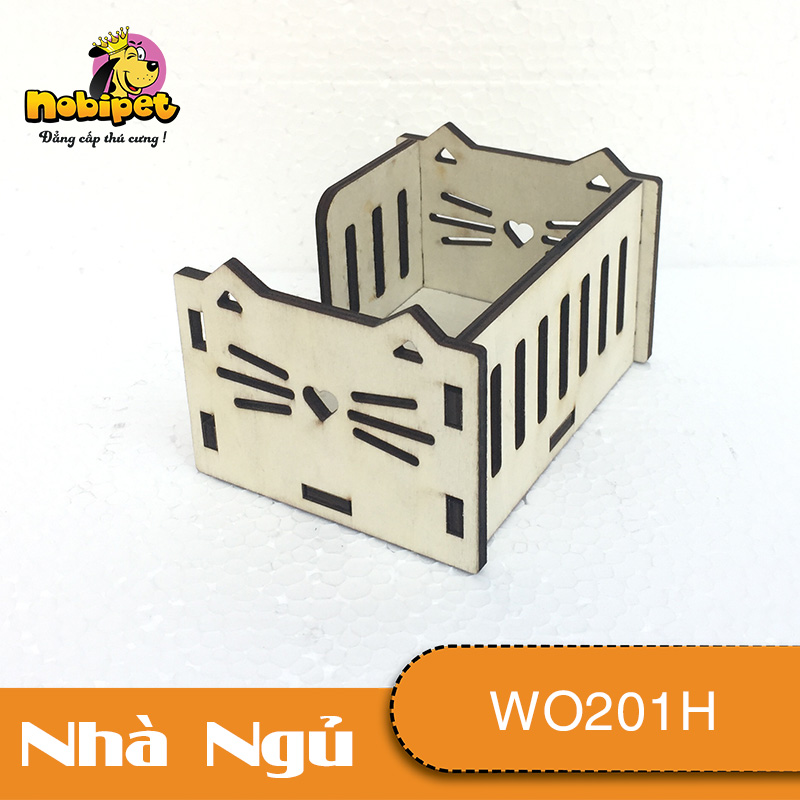 Giường Cụi gỗ lắp ráp Kitty  WO201H