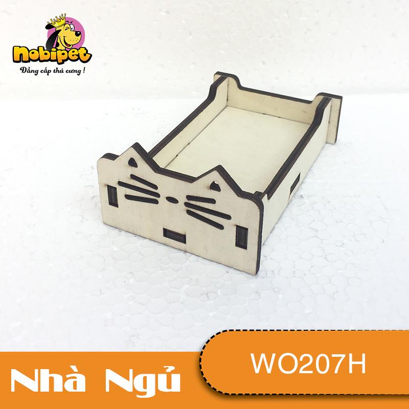 Giường ngủ gỗ lắp ráp  Miu Miu  WO207H