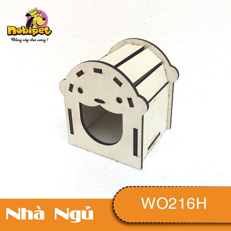 Nhà ngủ gỗ lắp ráp Kiki  WO216H