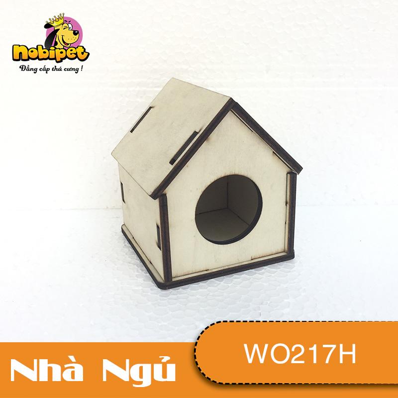 Nhà ngủ gỗ lắp ráp Ngũ Giác  WO217H