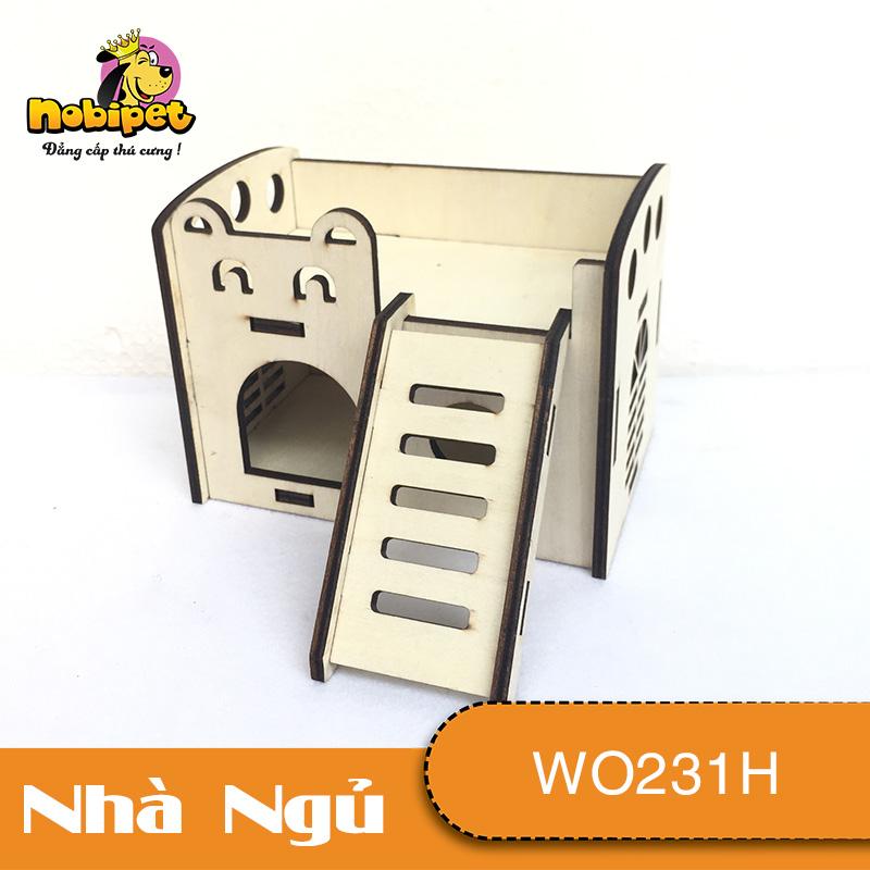 Nhà Ngủ gỗ lắp ráp Giường Tầng  WO231H