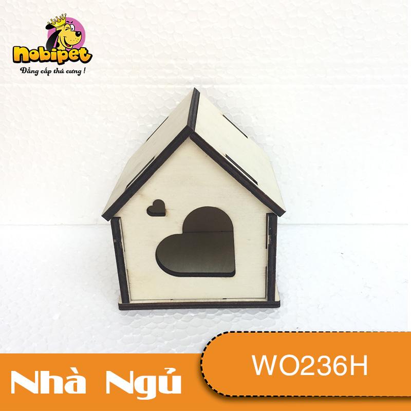 Nhà gỗ lắp ráp hộp trái tim TOKYO WO236H