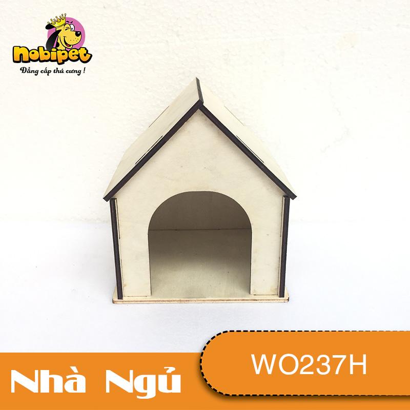 Nhà ngủ gỗ lắp ráp HappyHome  WO237H
