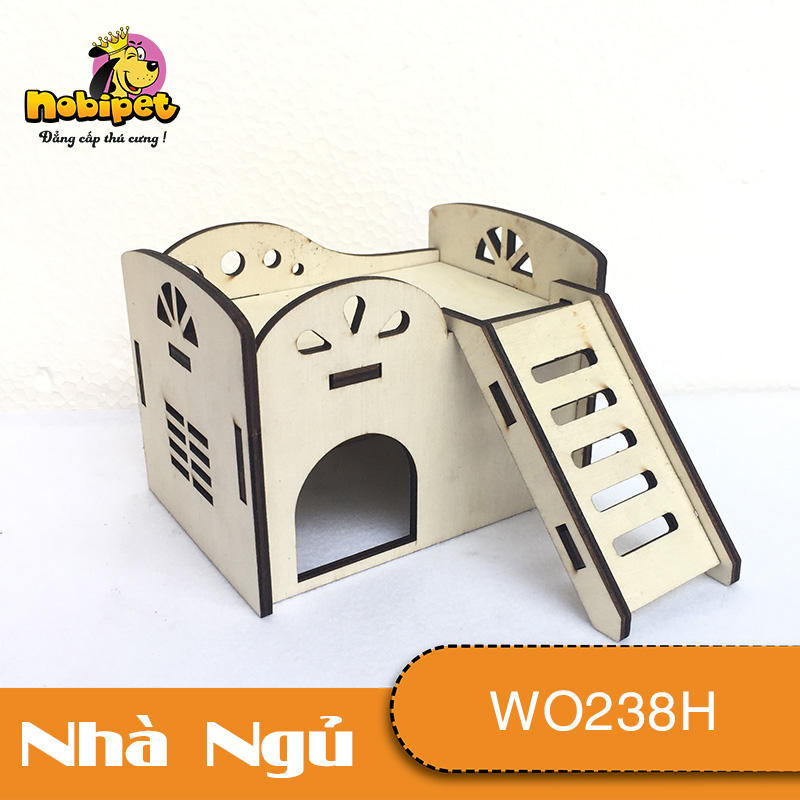 Nhà  Gỗ Lắp Ráp Sân Thượng Banana WO238H