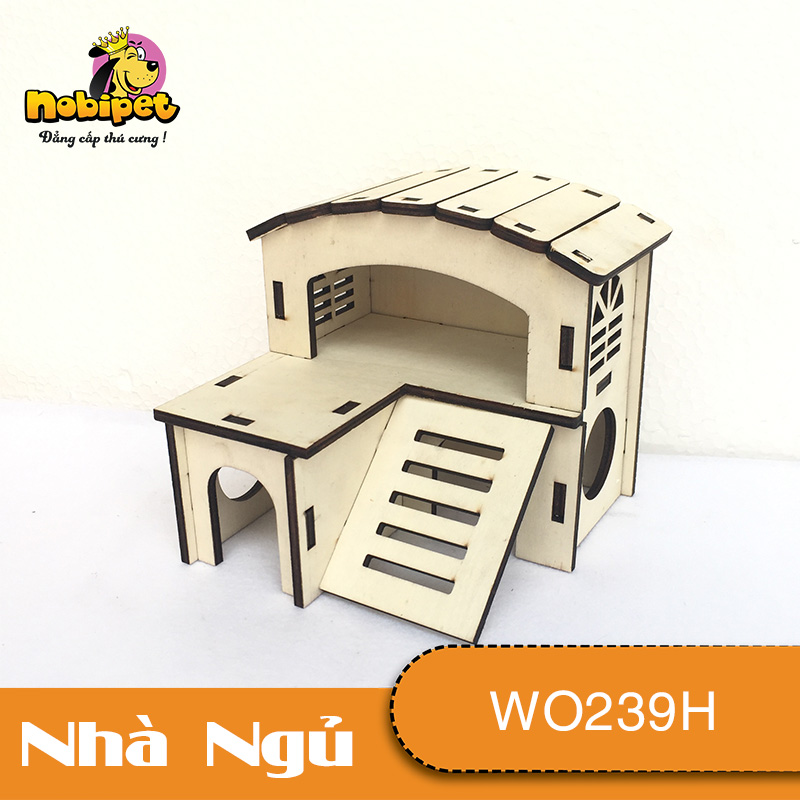 Nhà Ngủ Gỗ Lắp Ráp Bồ Công Anh WO239H