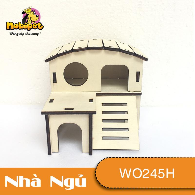 Nhà Ngủ gỗ lắp ráp Hoàng Tử Nhỏ WO245H