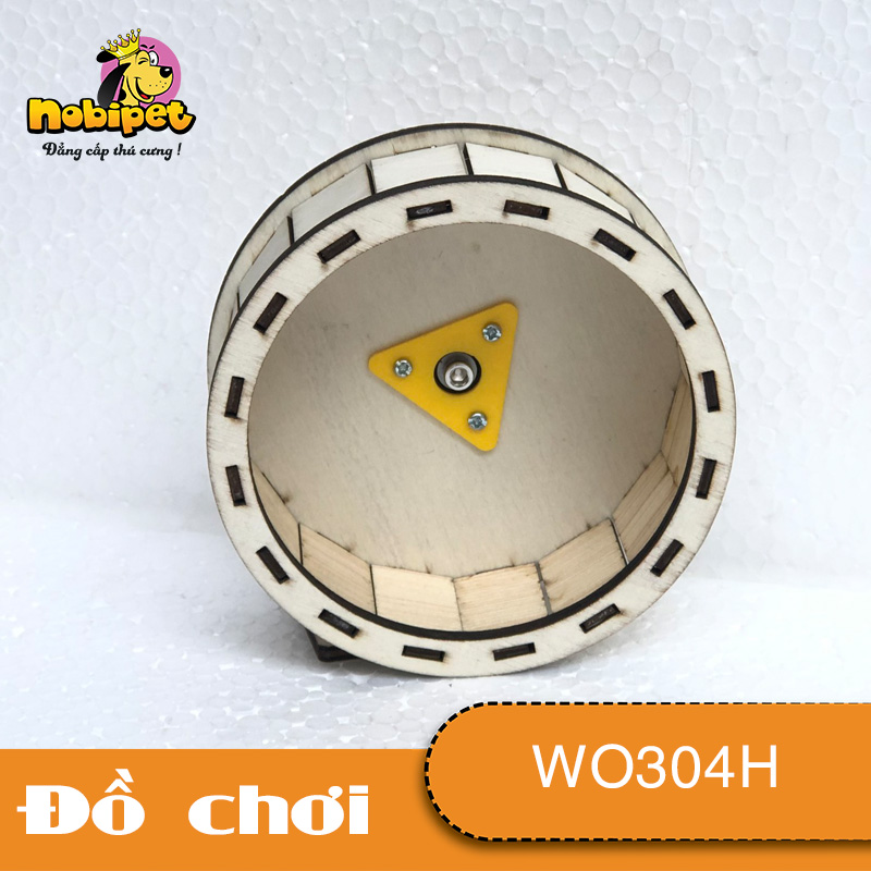 Wheel Gỗ Lắp Ráp gắn lồng Oval WO304H