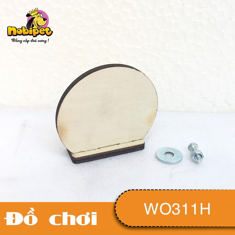 Bậc kệ gỗ lắp ráp  hình tròn WO311H