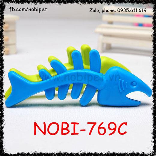 Xương Cá Giả Fishing Su Mềm Cho Chó Chơi Nobi-769C