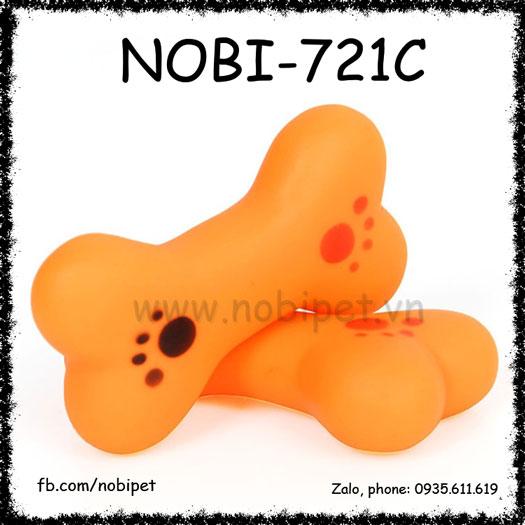 Xương Nhựa Minibond Cho Chó Chơi Có Kèn Nobi-721C