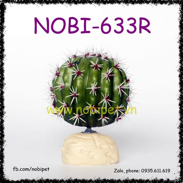 Xương Rồng Giả Mini Trang Trí Chuồng Nuôi Bò Sát Nobi-633R