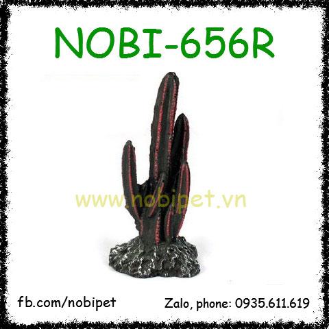 Xương Rồng Thân Đỏ Tạo Cảnh Chuồng Nuôi Bò Sát Nobi-656R