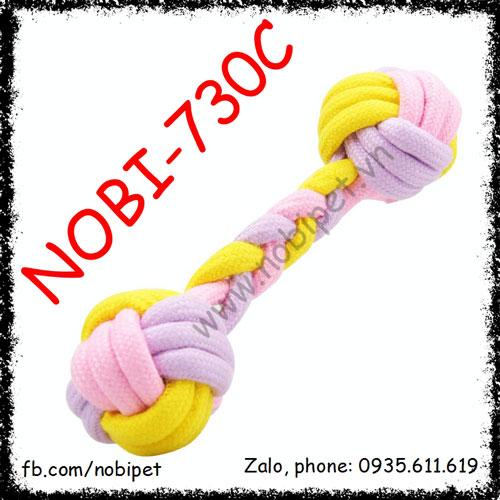 Xương Vải Pug Đồ Chơi Cho Chó Gặm Ngứa Răng Nobi-730C