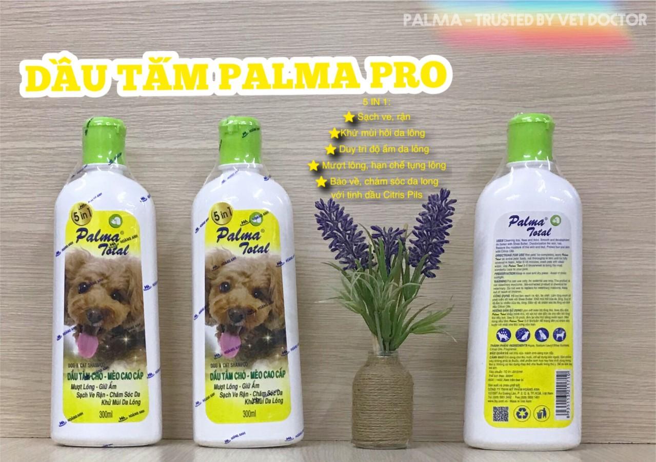 Palma Total 5 In 1 Dầu Tắm Cho Chó Mèo Chăm Sóc Da Lông Toàn Diện NOBI-2034C