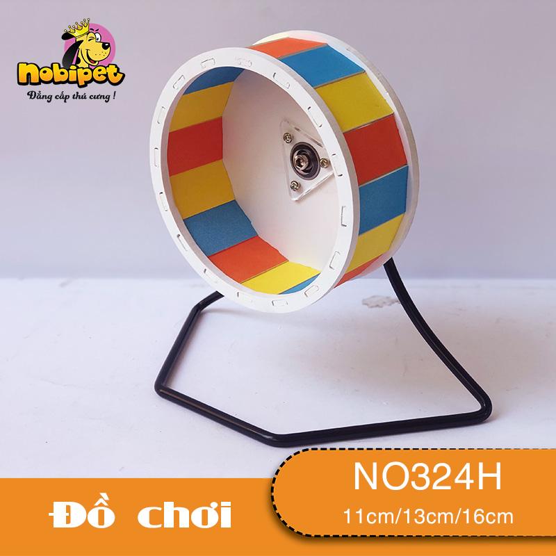 Wheel Cầu Vồng Đế Sắt Đen NO324H