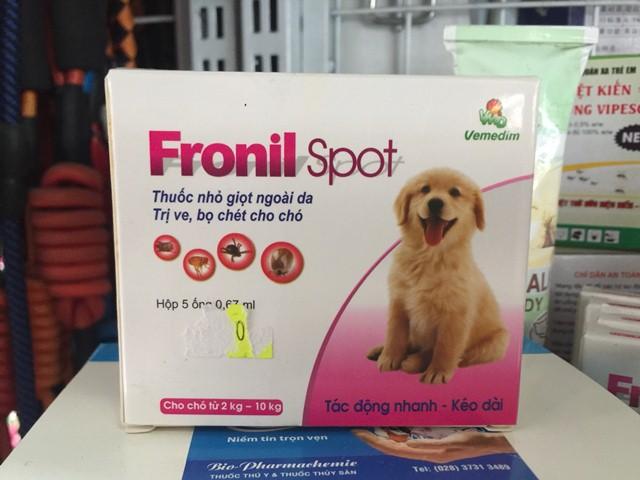 Ổng Nhỏ Gáy Trị Ve Rận Fronil Spot NOBI-566C