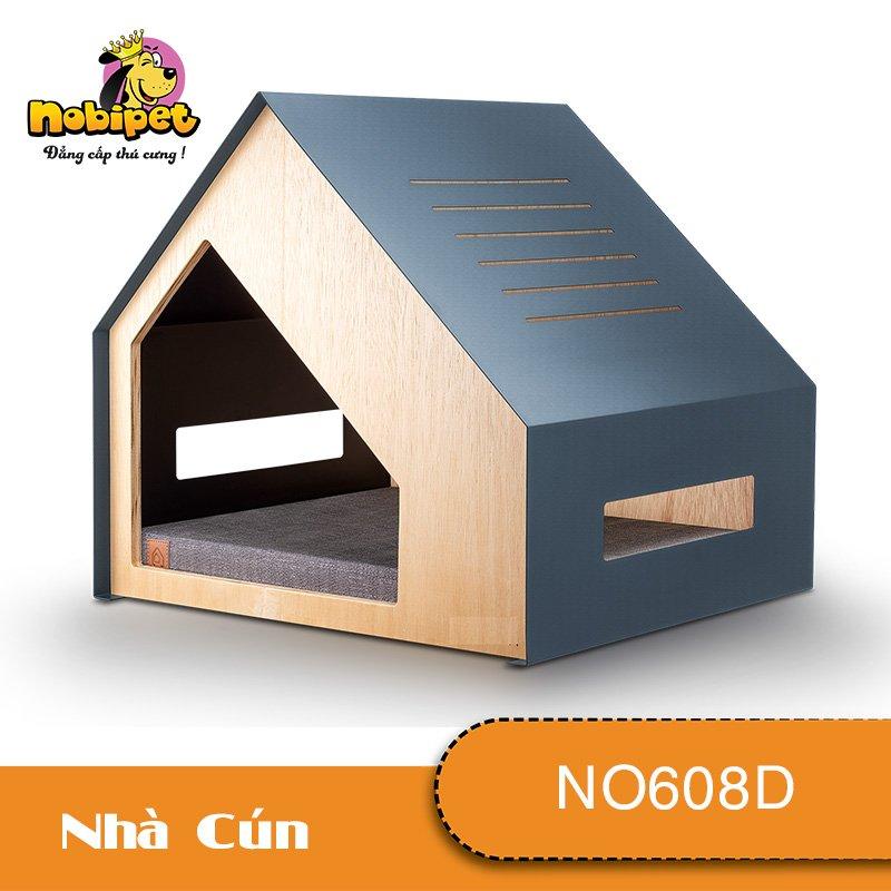 Nhà Ngủ Gỗ Lắp Ráp Marina Cho Chó Mèo NO608D