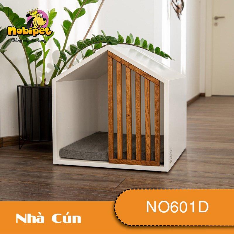 Nhà Ngủ Gỗ Lắp Ráp Alpha Cho Chó Mèo NO601D