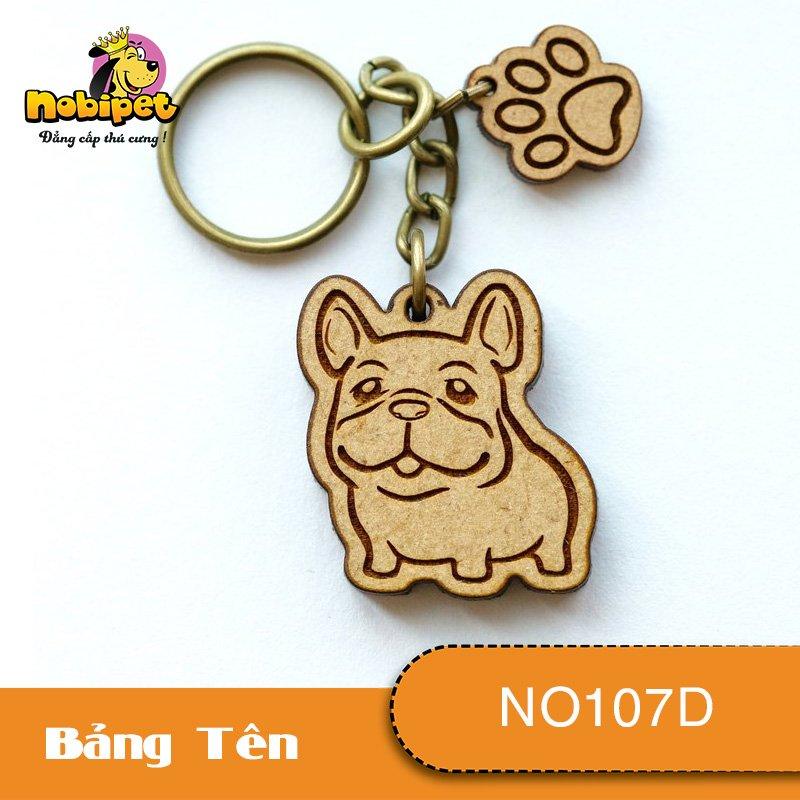 Bảng tên Pug Dành Cho Chó Mèo NO107D