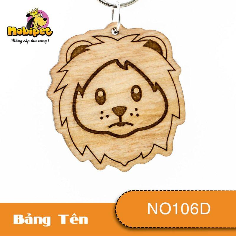 Bảng tên Sư tử Dành Cho Chó Mèo NO106D