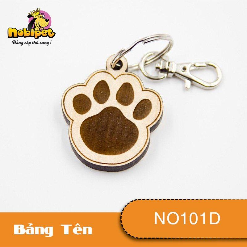 Bảng tên Dấu Chân Dành Cho Chó Mèo NO101D