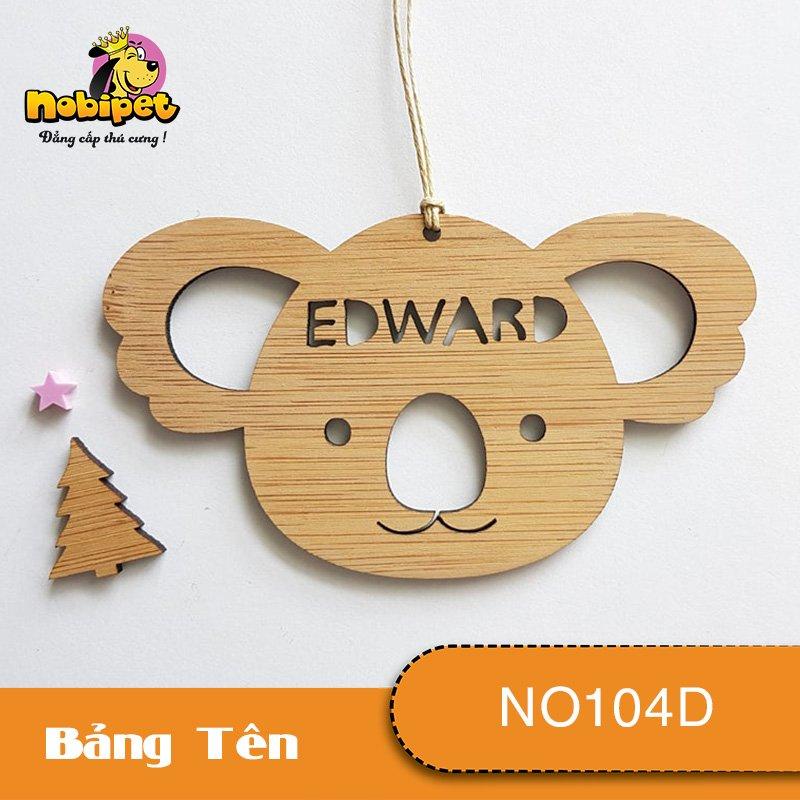 Bảng tên ADWARD Dành Cho Chó Mèo NO104D