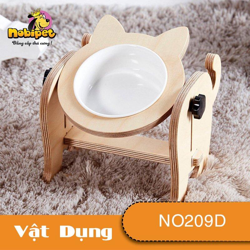Kệ chén ăn Tai Thỏ Dành Cho Chó Mèo NO209D