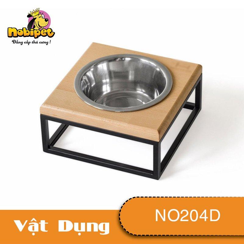 Kệ chén ăn Đơn Opala Cho Chó Mèo NO204D