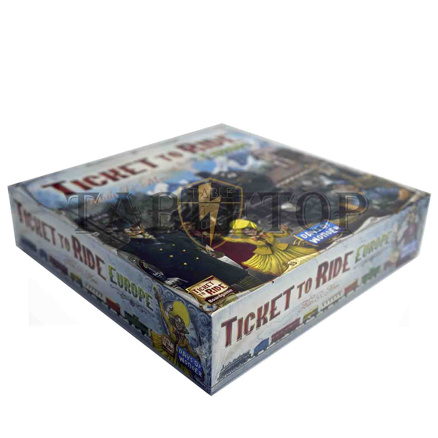ticket to ride europe board game how to play