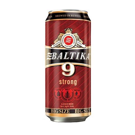 Bia  Baltika số 9 lon 8% 900ml