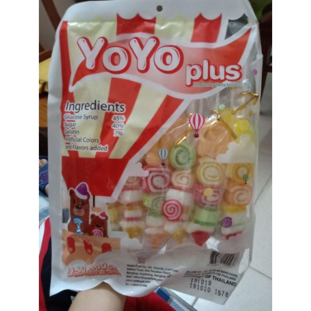 Kẹo dẻo xiên Yoyo Thái Lan 300g