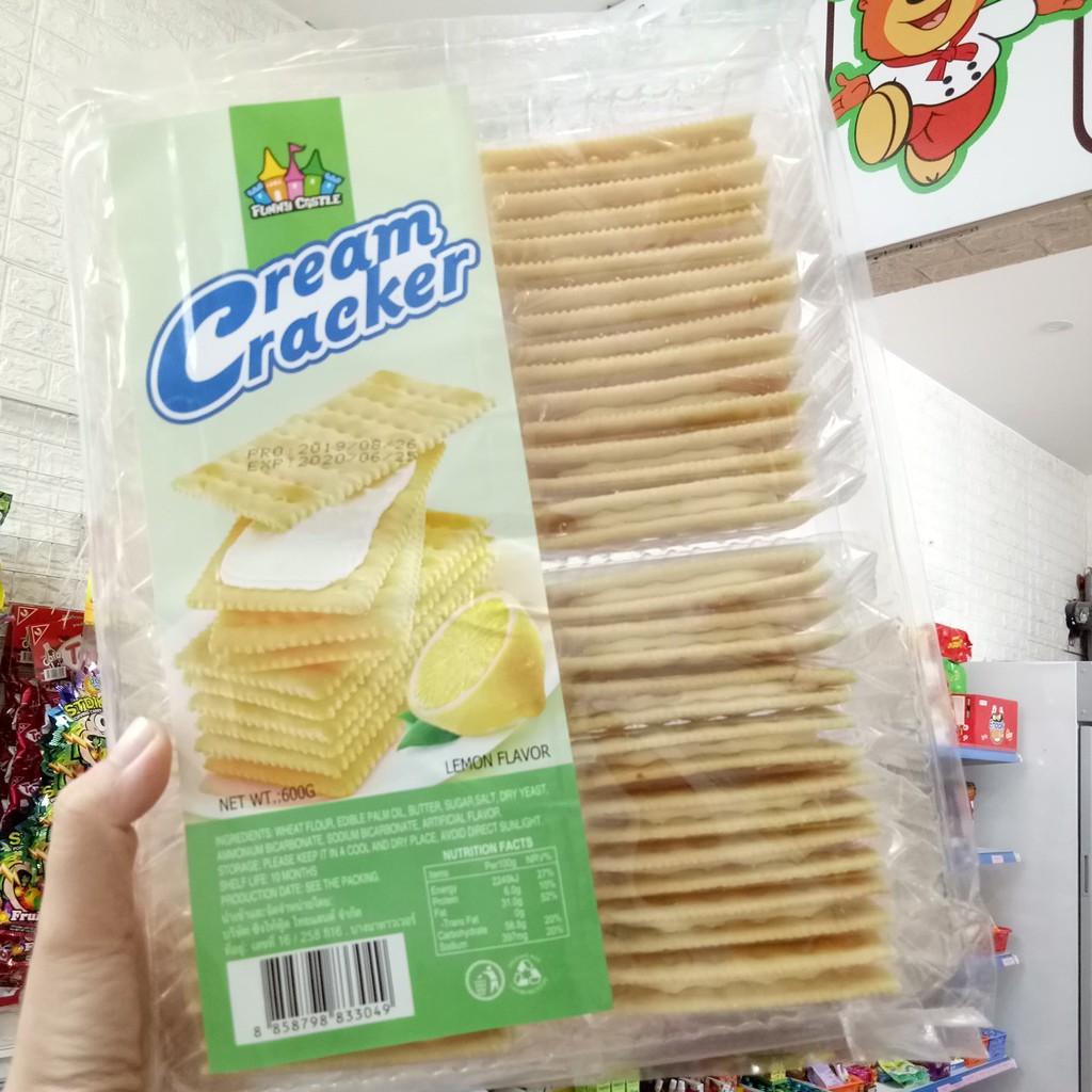 Bánh quy kẹp kem các vị 600g