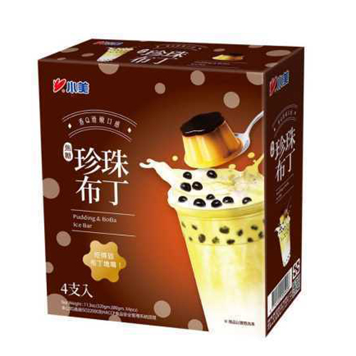 Kem que Puding trân châu Đài Loan (4c/hộp)