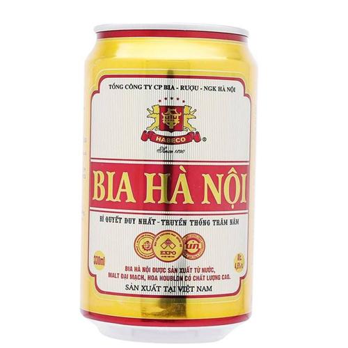 Bia Hà Nội lon 330ml