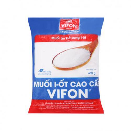 Muối I-ôt Vifon cao cấp 450g